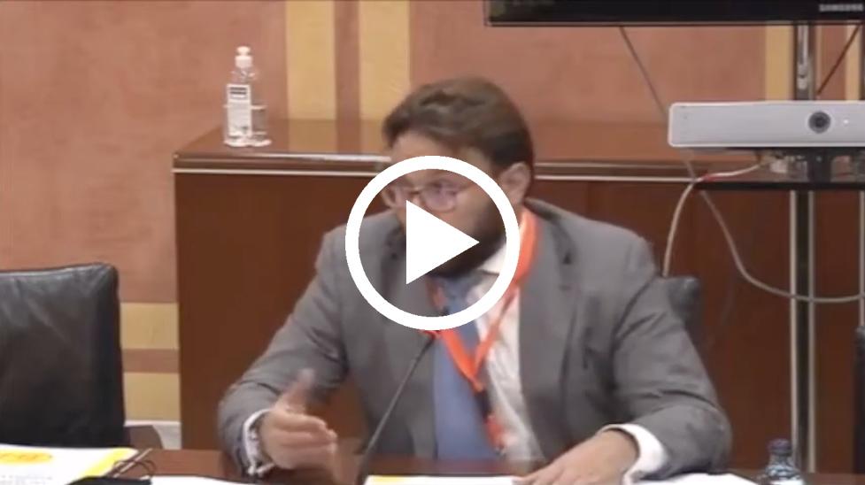 [Vídeo] Comparecencia de José Luis Victorio, vicepresidente CEI-A