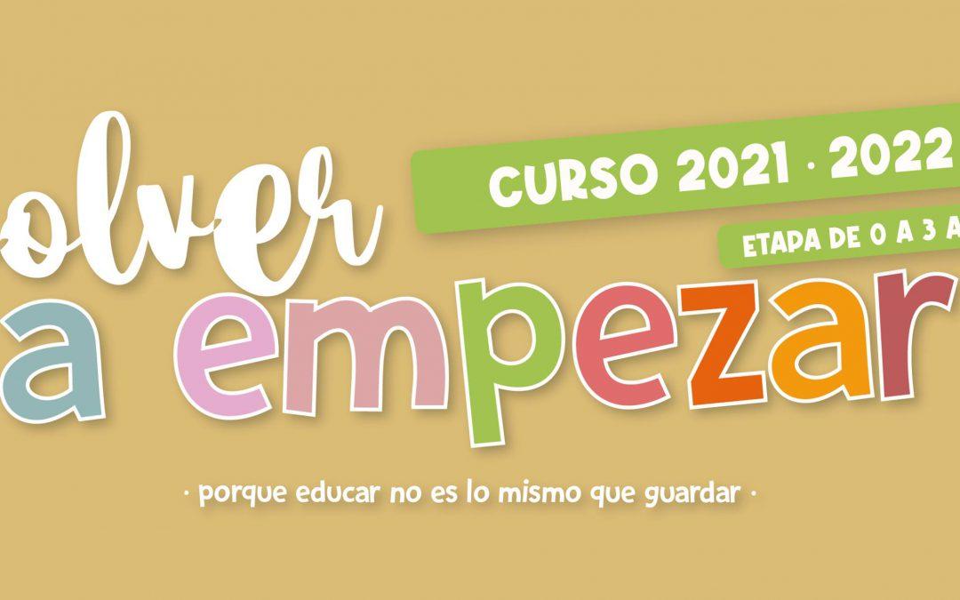 Curso 2021/22 en las escuelas infantiles