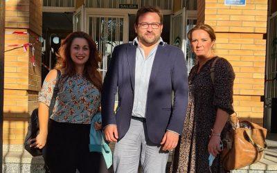 CEI-Andalucía acude a la Delegación de Educación para abordar la problemática de las aulas mixtas